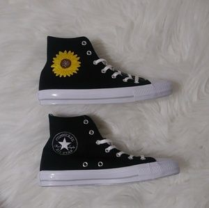 8061c3ac78e Converse Shoes - Custom Converse Chuck Taylor Sunflower High Top